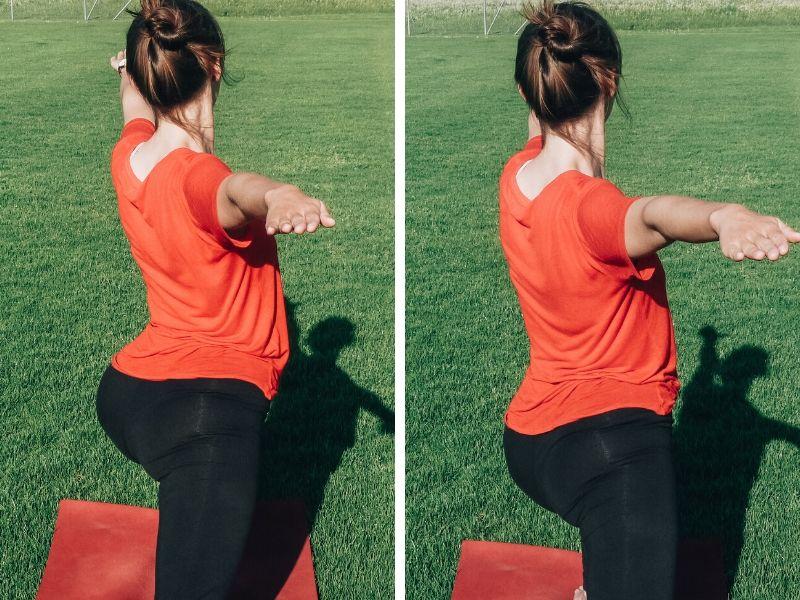 Yoga-Fehler: Ins Hohlkreuz gehen