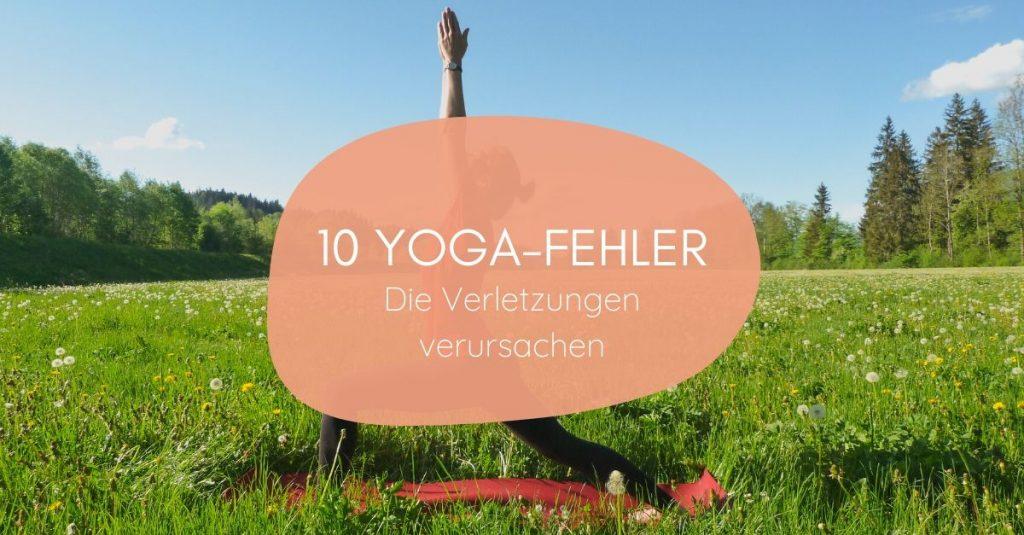 Häufige Yoga-Fehler, die zu Verletzungen führen