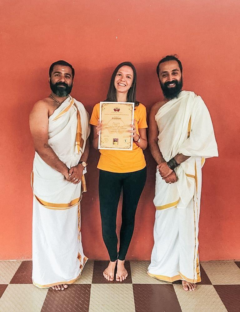 Meine Lehrer in der Yoga-Ausbildung bei Samyak: Arvind und Rakesh