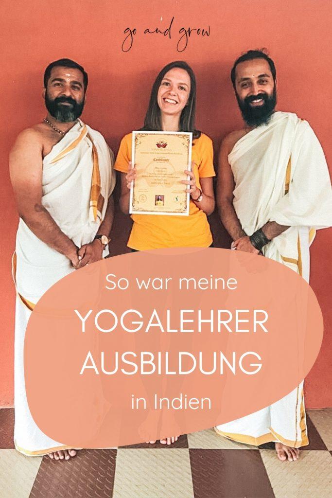 Yogalehrer-Ausbildung in Indien - Erfahrungsbericht