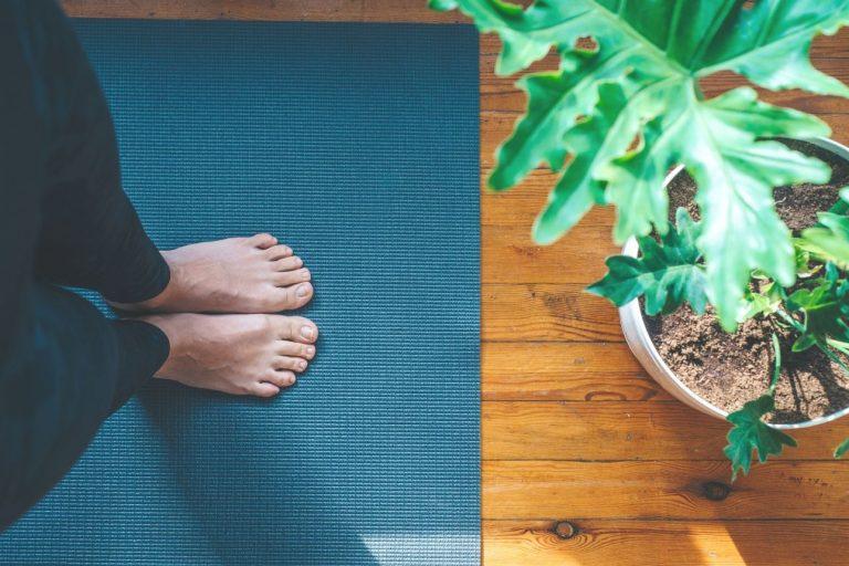 Regelmäßige Yoga-Praxis