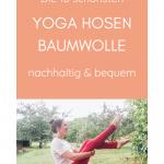 Günstige Yoga Hosen aus Baumwolle