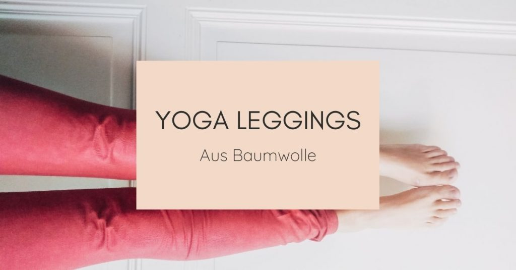 Yoga Leggings aus Baumwolle