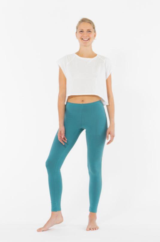 Weiche Yoga Leggings einfarbig