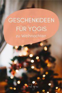Geschenkideen Yoga - für Weihnachten