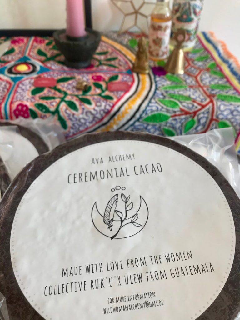 Kakao-Zeremonie verschenken für Yoga-Fans