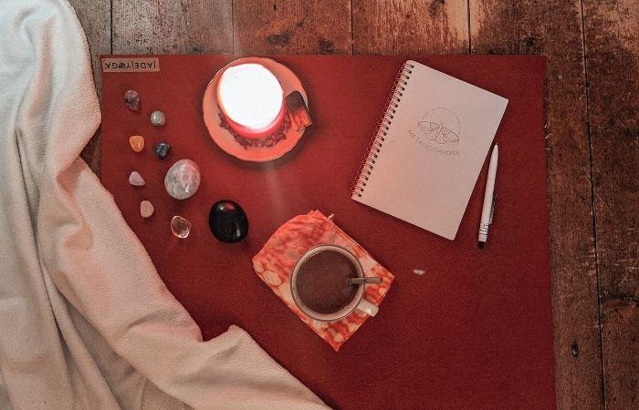Vorbereitung zur Kakao Zeremonie zuhause